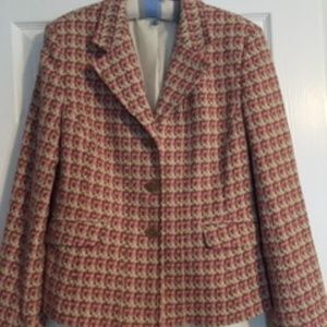 Pink Tweed from Talbots